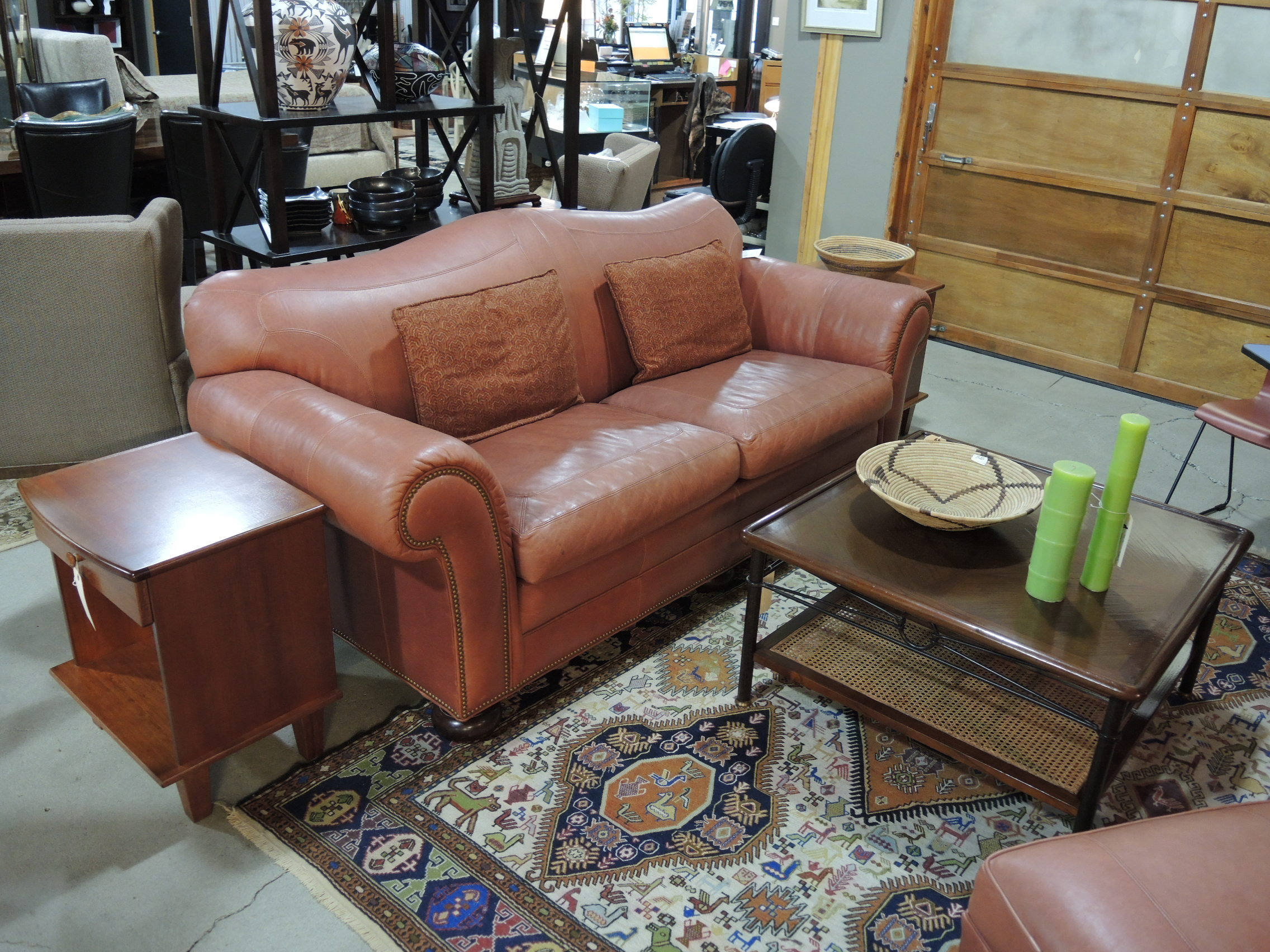 Consignment Sofa Seams To Fit Home Page 3 ~ Rust Colored Sectional Sofa