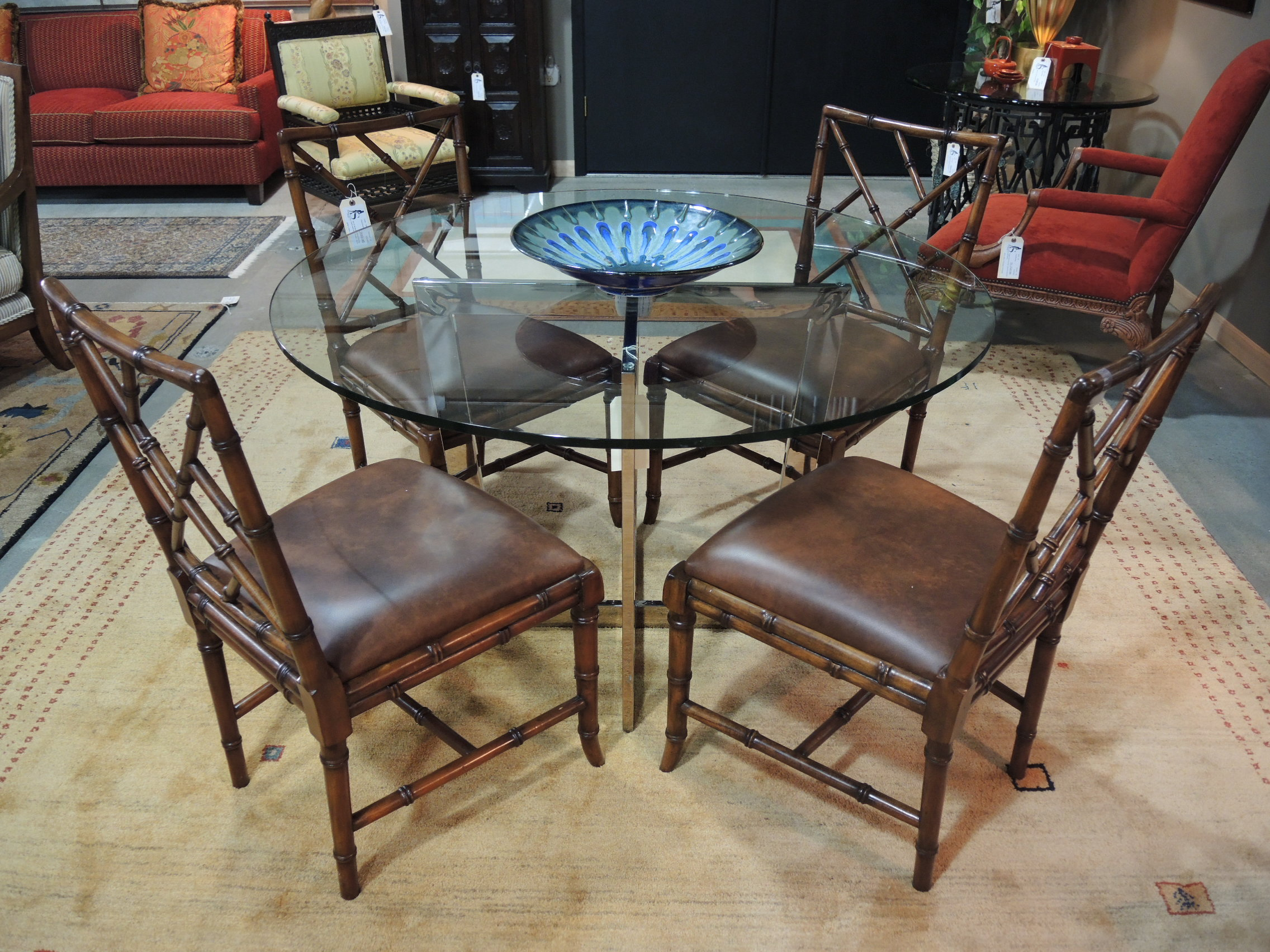 Bamboo dining table set -  Latest Arrivals Tuesday May 12th