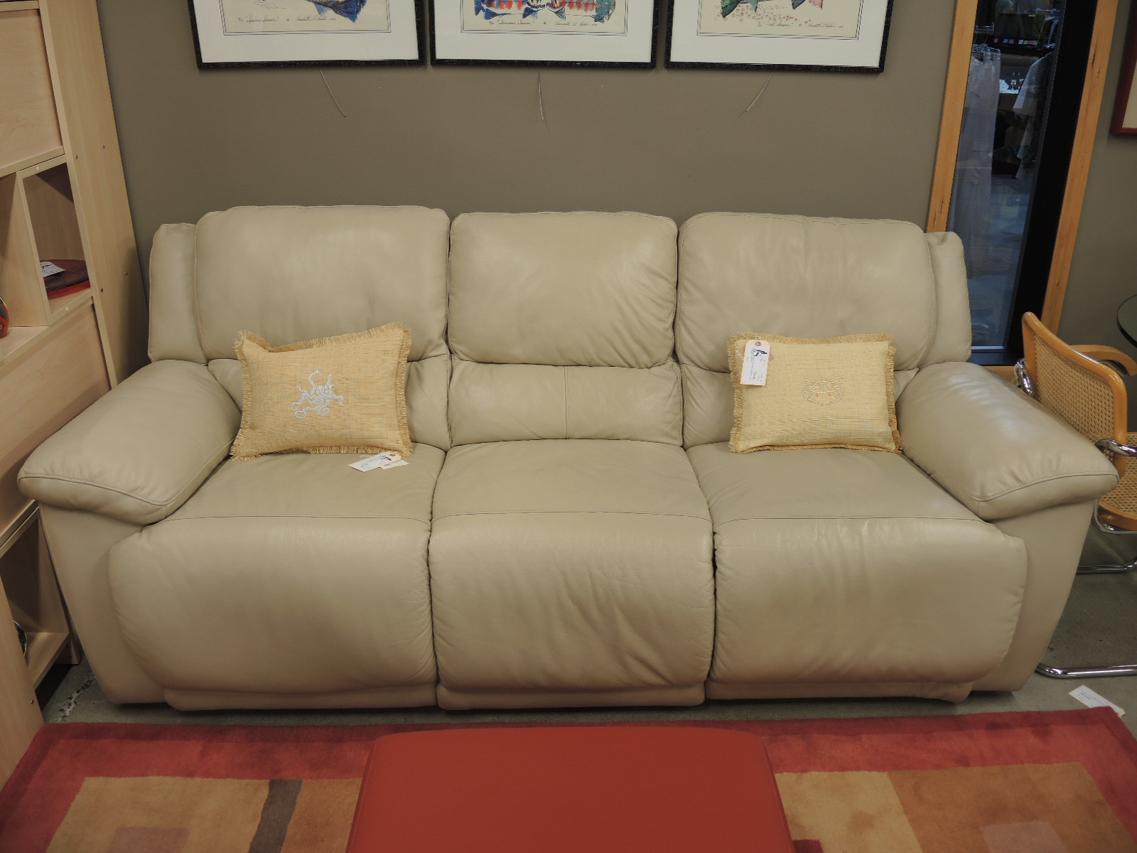 Saarinen Seams To Fit Home - Media room sofa
