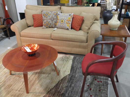 Ethan Allen Seams To Fit Home - Conversation sofa ethan allen bennett roll arm