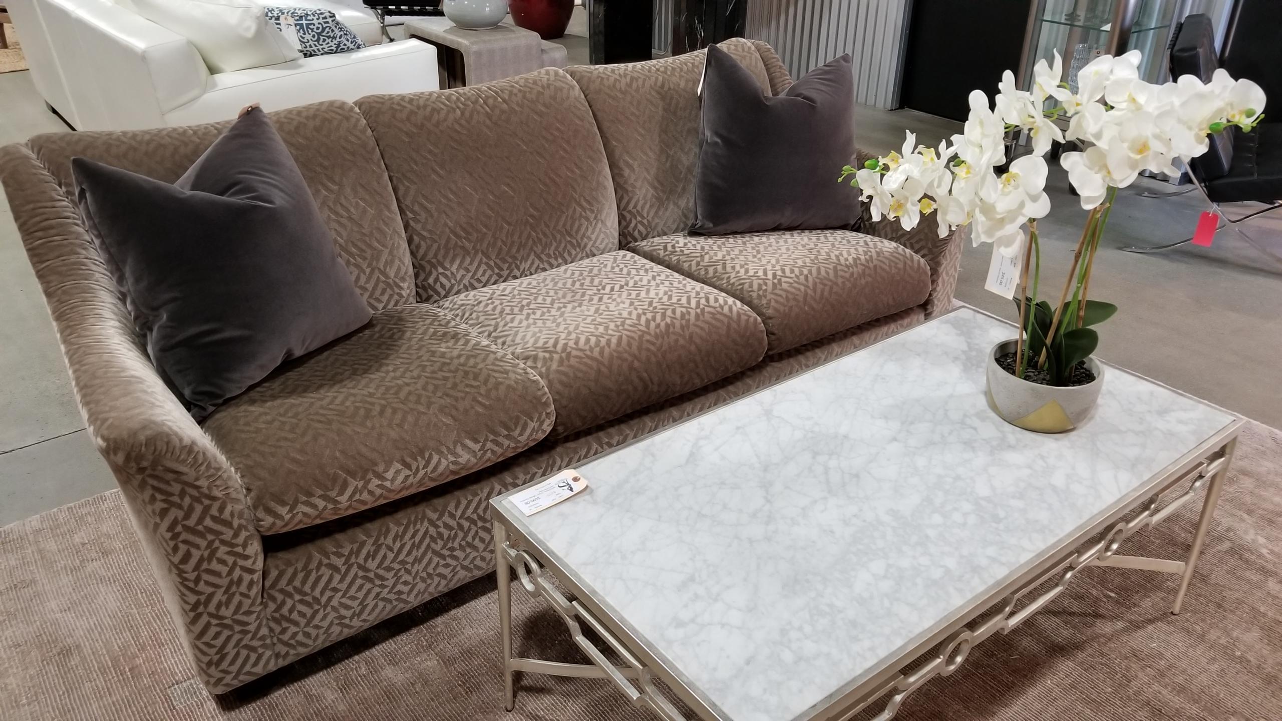 Custom Champagne Mohair Sofa U2013 Keilhauer Furniture U2013 Canada U2013 Knoll  Textiles Upholstery Measures 79u2033w X 36u2033d X 34u2033h, Original Retail Price Was  $6000, ...