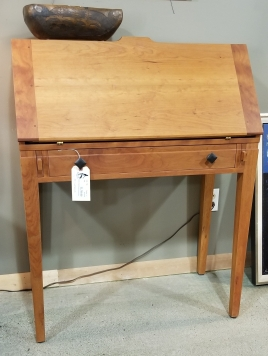 Joinery Cherry Wood Secretary Desk, priced at $1700, sale price $1530